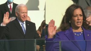 Joe Biden sworn in as President of the United States of America