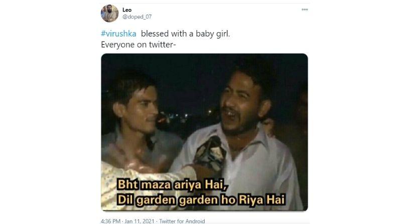 Virushka Baby Girl memes