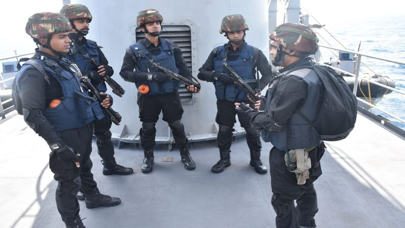 Country's largest naval exercise: 'SEA VIGIL 21' completed, Navy demonstrates strength