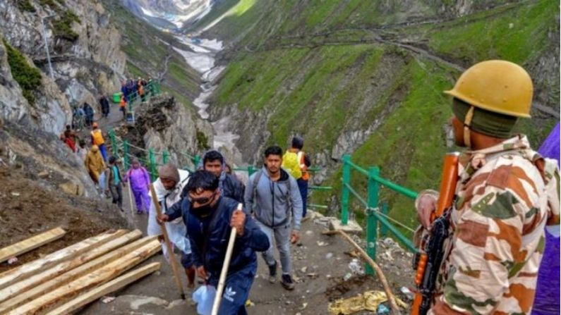 Jammu-Kashmir: Five terrorists killed in encounter in Shopia, Amarnath pilgrimage to be tightened