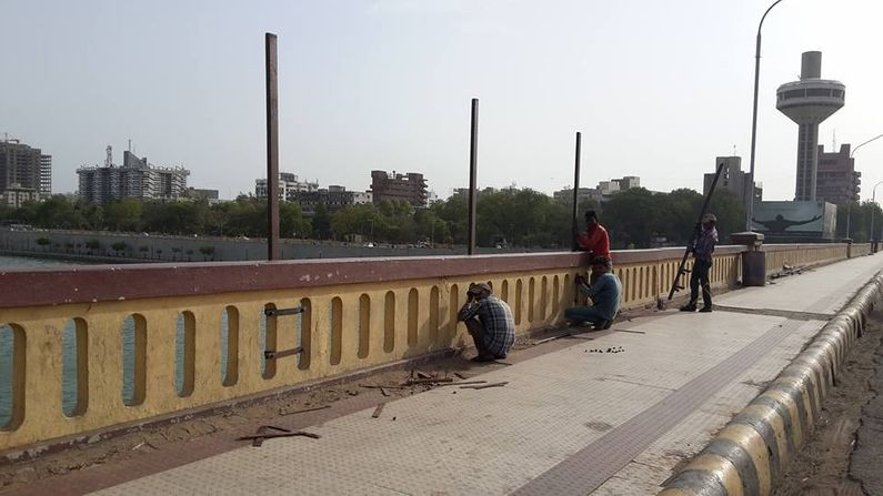 Ahmedabad: The city's Nehru Bridge was reopened after repairs, had been closed for 45 days