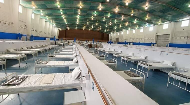 "INDIAN ARMY: Dhanwantari Kovid Hospital Ahmedabad - ""Har Kaam Desh Ke Naam"""