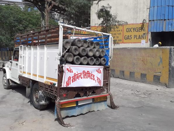 Shree Cement continues to supply Medical Oxygen for Covid Care
