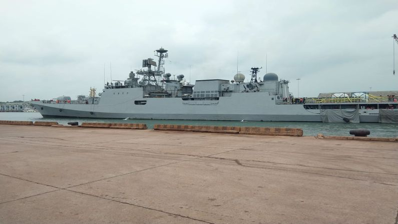 INDIAN NAVAL SHIPS KOCHI & TABA