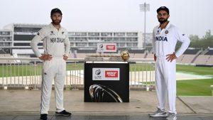 India vs New Zealand Live Score, WTC Final 2021 Day 1: ભારત અને ન્યુઝીલેન્ડ વચ્ચે આજથી ટેસ્ટ ક્રિકેટનો મહાસંગ્રામ, સાઉથમ્પ્ટનમાં વરસાદને લઈ પ્રથન સેશન ધોવાયુ