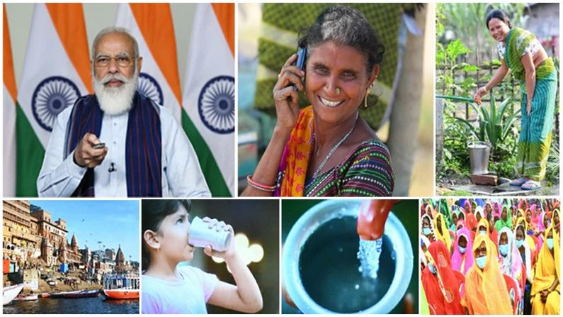See the government's development journey as the Modi government completes seven years in the service of the people