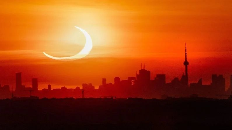 Solar Eclipse 2021: NASA shares photos of solar eclipse, see and speak Waah