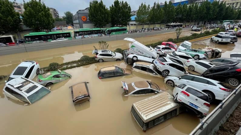 ઝંગઝોઉમાં વર્ષ દરમિયાન 640.8 મિલીમીટર જેટલો વરસાદ નોંધાય છે. હમણાં સુધી અહીં 617.1 મિલીમીટર વરસાદ થઈ ચૂક્યો છે.
