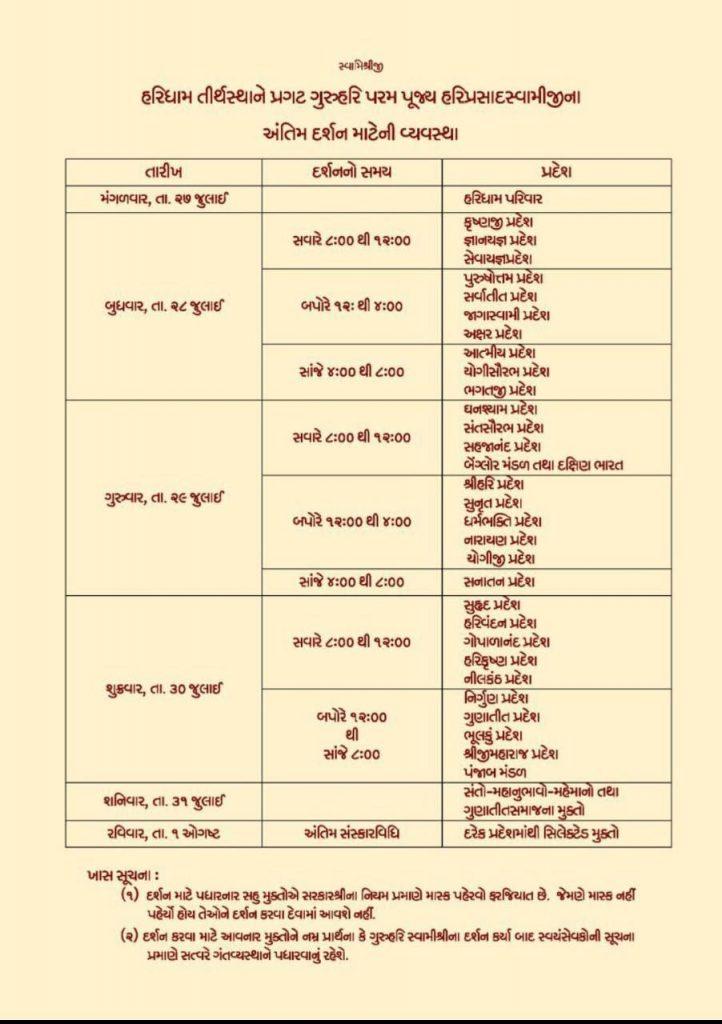 Hariprasad Swamiji