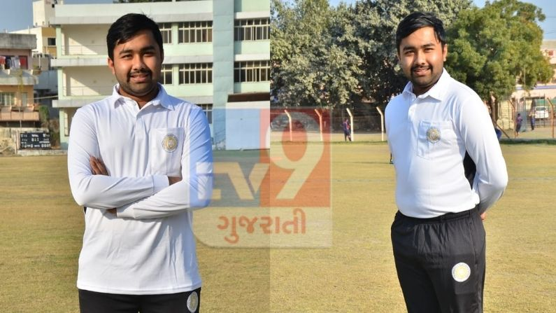 The youngest umpire in the world of cricket is Jay Shukla from Jamnagar