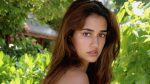 Disha Patani once again won the hearts of her fans with her smile, sharing a photo hiding her eyes