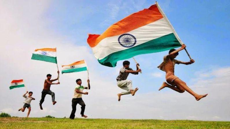 ભારતના રાષ્ટ્રધ્વજમાં કેસરી રંગ તાકાત અને સાહસનું પ્રતિક છે અને  સફેદ રંગ શાંતિ અને સત્યનું પ્રતિક છે.જ્યારે લીલો રંગ દેશના વિકાસ અને પ્રગતિનું પ્રતિક માનવામાં આવે છે.ઉલ્લેખનીય છે કે,ભારતના રાષ્ટ્રધ્વજની લંબાઈ અને પહોળાઈ 3:2 છે.