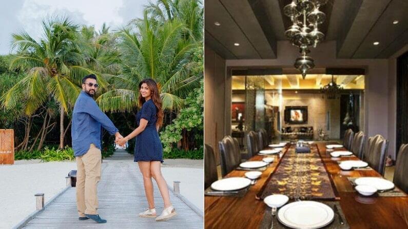 शिल्पा शेट्टी और राज कुंद्रा अपने परिवार के साथ मुंबई के एक आलीशान घर में रहते हैं।  शिल्पा का आलीशान घर मुंबई के जुहू में है।  जिम, विशाल बगीचा उसके घर में सब कुछ है।  शिल्पा और राज सोशल मीडिया पर फैंस को अपने घर की झलक दिखाते रहते हैं।