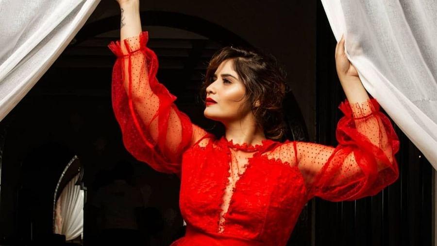 Bigg boss fame arti singh shares stunning photos in red dress viral on internet